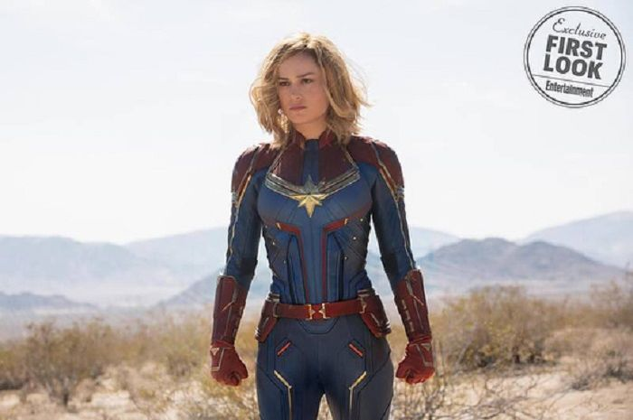 foto eksklusif perdana film Captain Marvel