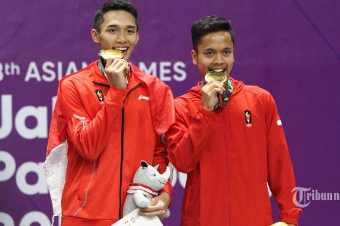usai Asian Games 2018, ranking dunia Jojo dan Ginting merangkak naik