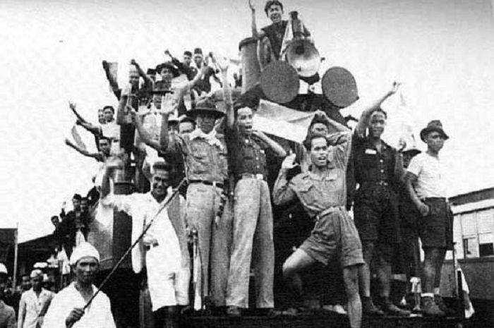 Para pejuang Indonesia tahun 1945