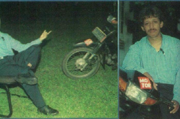 Cak Munir menyebut motor sebagai simbol masyarakat kecil.