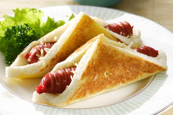 Roti Panggang Ragout