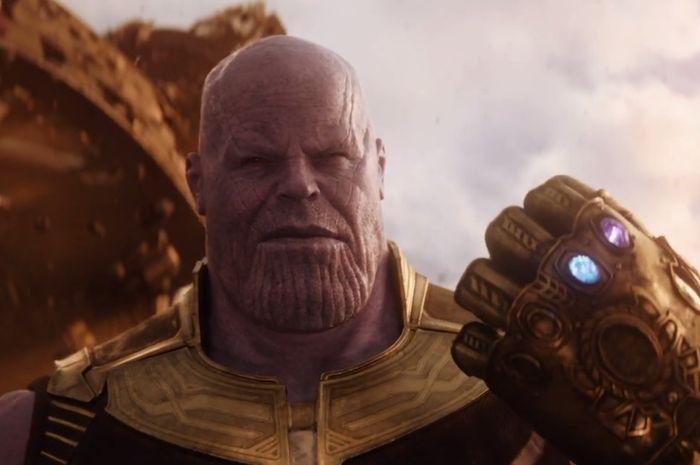 Thanos dalam film Avengers: Infinity War