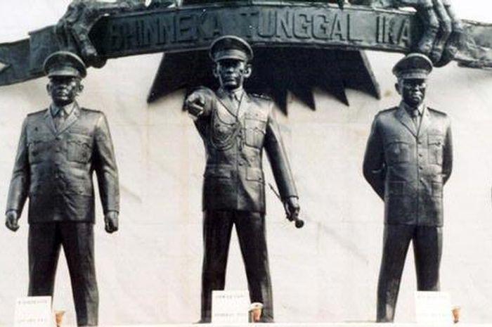 Banyak kisah-kisah lucu di sela-sela penumpasan Gerakan 30 September.