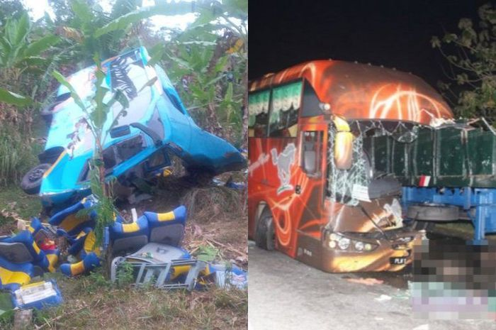 Kecelakaan bus.