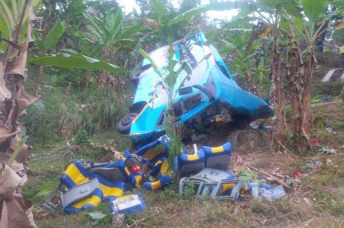 Kecelakaan maut di Cikidang, sukabumi (9/9).