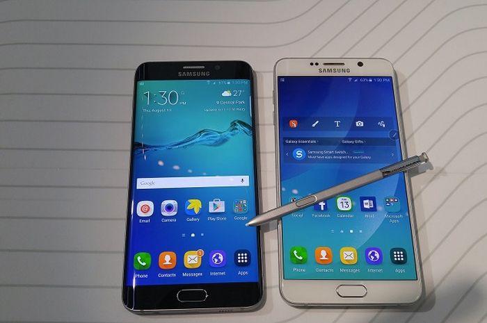 Kabar sedih bagi pemilik Samsung Galaxy S6 Edge dan Note 5.