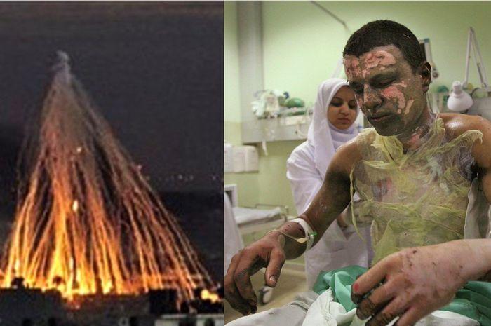 Bom fosfot, dan bahanya, yang digunakan Amerika menyerang Suriah 20017 lalu.