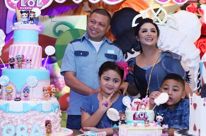Gelar Mewah Pesta Ulang Tahun Anak Krisdayanti Jadi Omongan