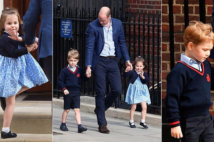 Wah! Ternyata Dongeng Ini Yang Disukai Pangeran George dan Putri Charlotte