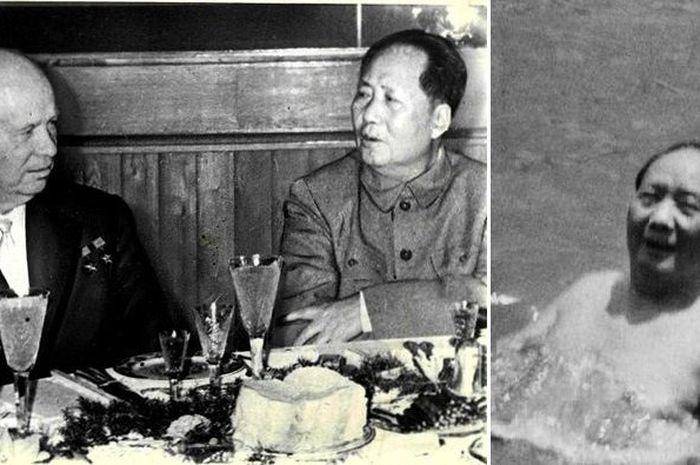 Perdama Menteru Uni Soviet dan Mao Zhadong