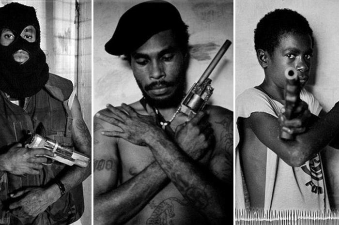 Gangster menguasai kota Port Moresby.