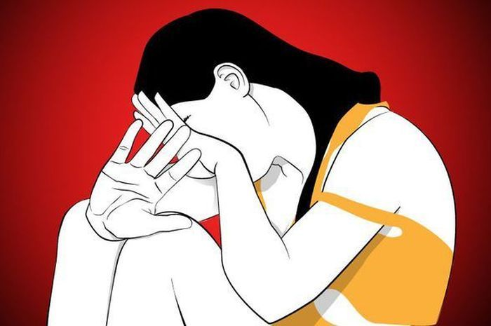 Ilustrasi perempuan diperkosa