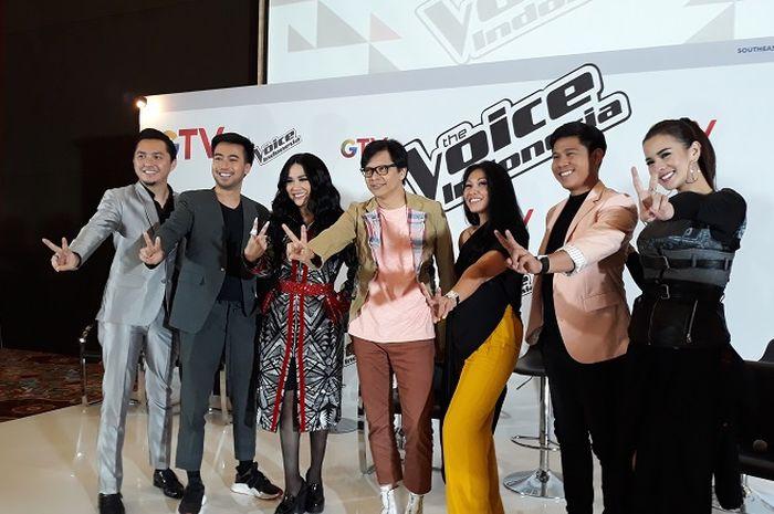 Para juri The Voice Indonesia