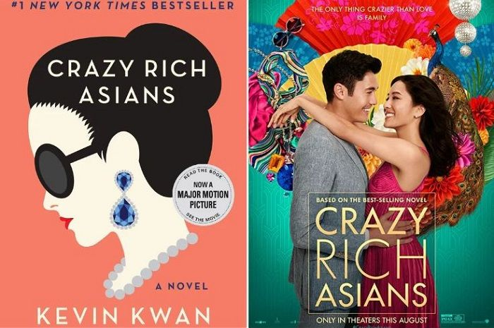 Crazy Rich Asians versi novel dan film