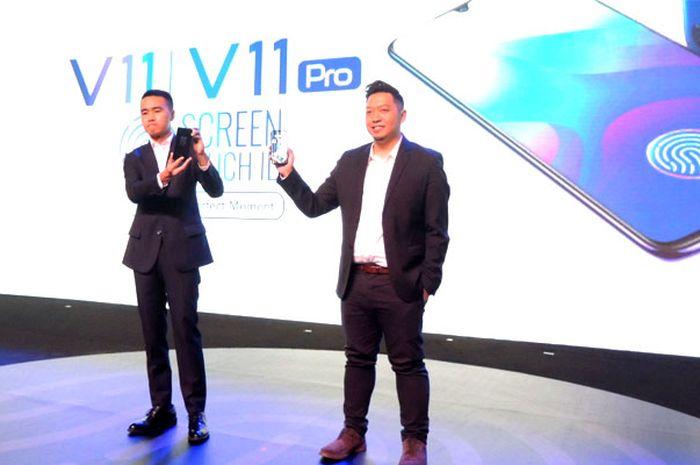 Vivo V11 Pro resmi diperkenalkan (12/9/2018)
