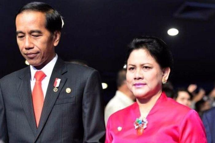 Iriana dan Jokowi