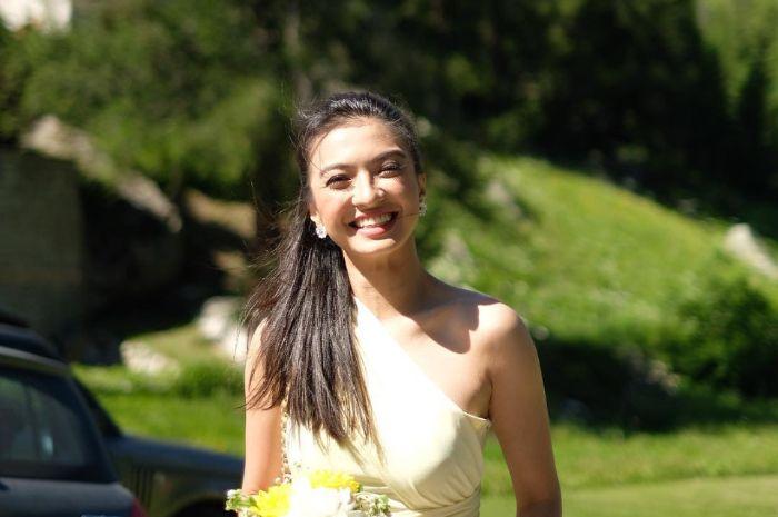 Kecantikan Raline Shah ternyata sudah terpancar sejak kecil loh!