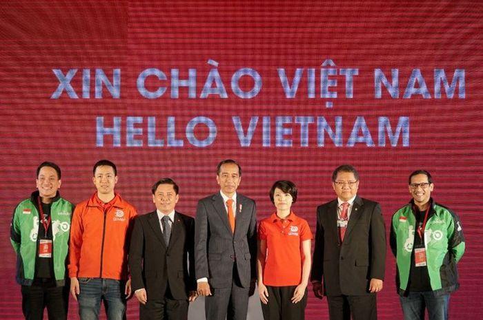 Presiden Jokowi Resmikan Kehadiran dan Ekspansi Go-Jek di Vietnam