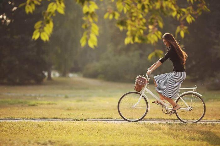 Bersepeda membawa manfaat baik bagi tubuh