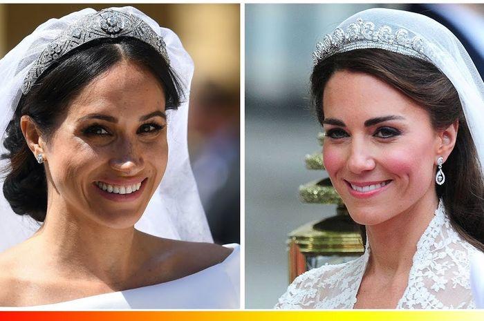 hadiah gelang mewah dari Camilla untuk Kate Middleton dan Meghan Markle