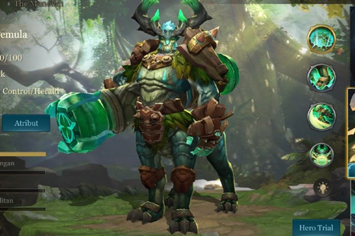 Baldum, Hero Tank Support Gratis yang Segera Rilis Di Arena