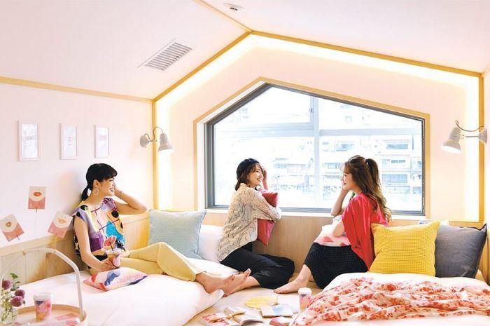 Cafetel, hotel khusus wanita di Jepang
