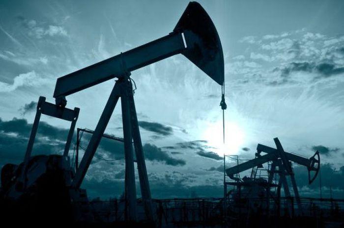 Ilustrasi ladang minyak bumi
