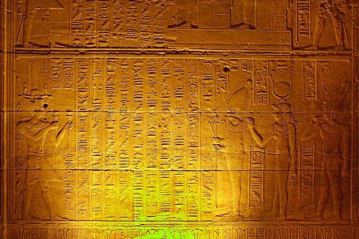 Kalender Mesir Kuno Temple Egypt Calendar