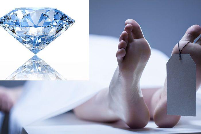 Berlian berbahan dasar mayat