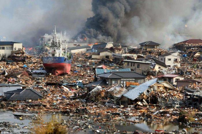 Gempa dan tsunami melanda wilayah Tohoku, Jepang pada tahun 2011