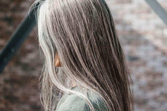 Penyebab rambut beruban, ada apa saja ya?