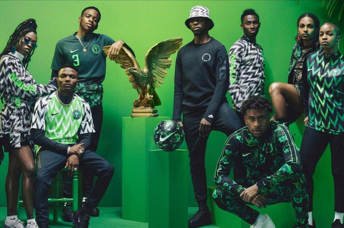 Lookbook koleksi jersi timnas Nigeria di Piala Dunia 2018