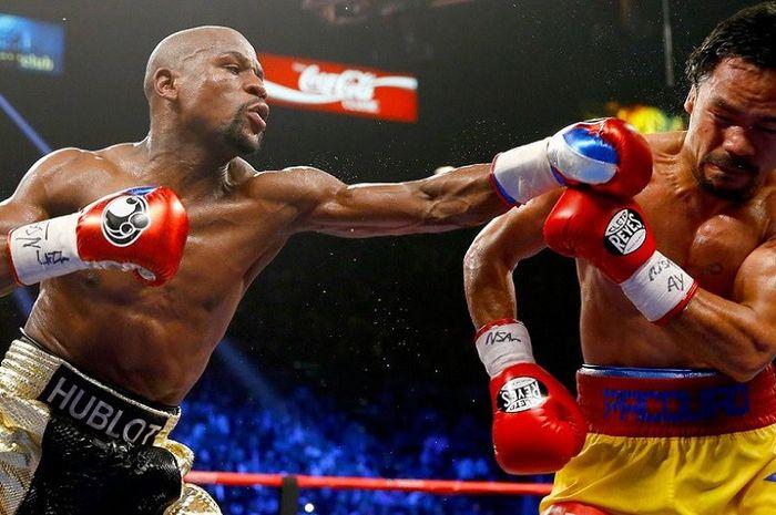 Floyd Mayweather vs. Manny Pacquiao di tahun 2015