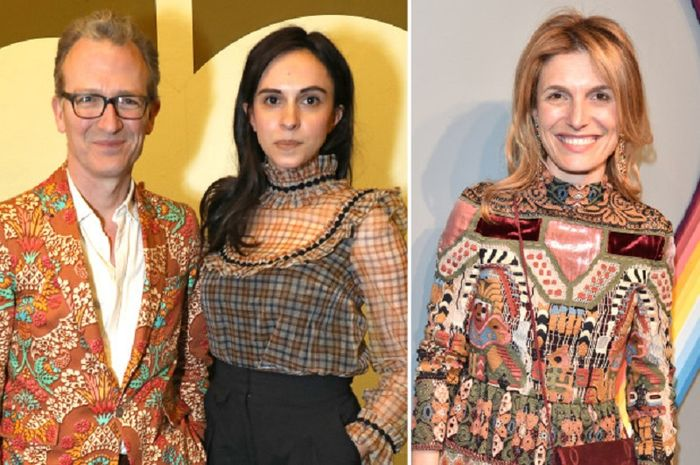 Ashley Hicks and Kata de Solis; Martina Mondadori Sartogo