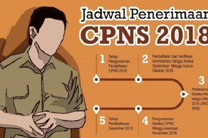 Besok atau 19 September 2018 pendaftaran CPNS 2018 resmi dibuka.