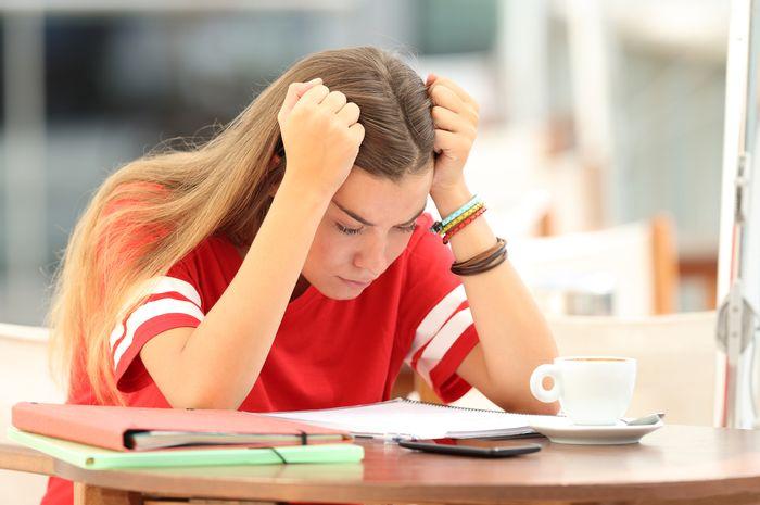 Bukan hanya orang dewasa, remaja pun mengalami peningkatan stres
