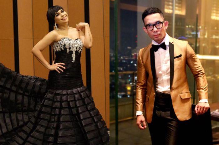 Melaney Ricardo dan Indra Herlambang