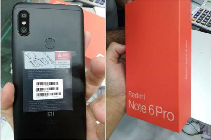 Belum Resmi Rilis Xiaomi Redmi Note 6 Pro Sudah Bocor Yuk Intip