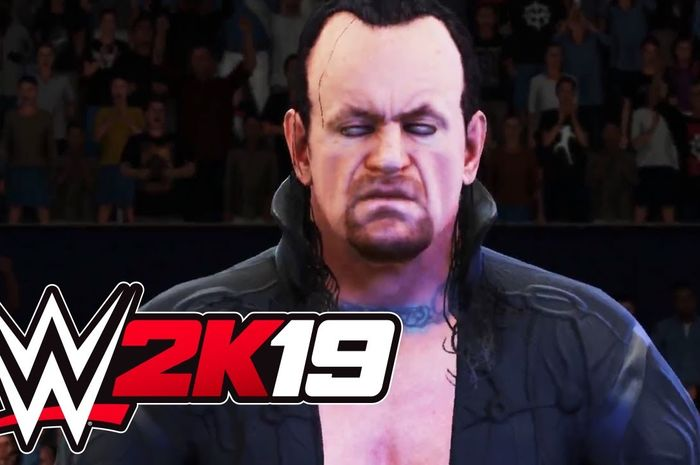 The Undertaker di WWE 2k19