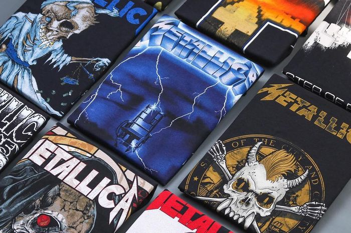 Kaos Band Metallica