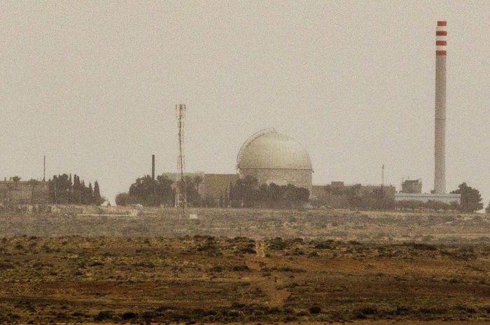 Reaktor nuklir Israel di Dimona.