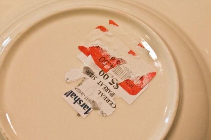 Label Di Alat Dapur