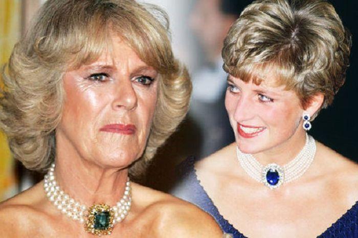 Sering Gunakan Perhiasan Ini, Camilla Parker Tiru Gaya Putri Diana?