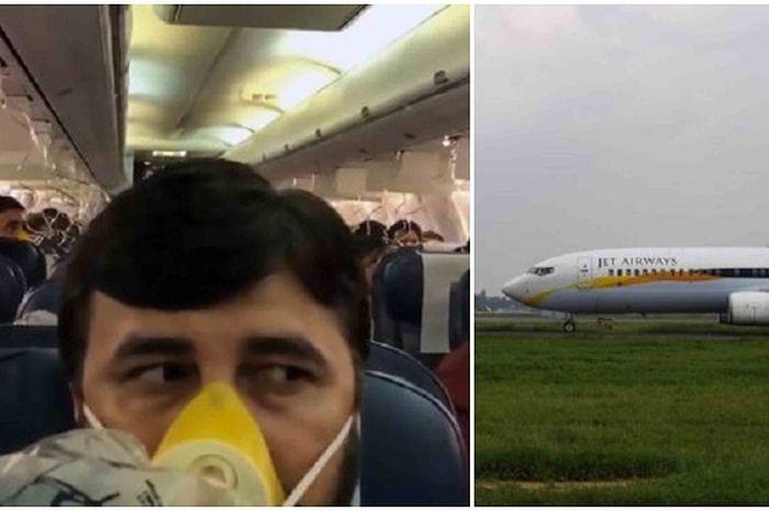 Penumpang penerbangan Jet Airways dilaporkan menderita pendarahan di hidung dan telinga