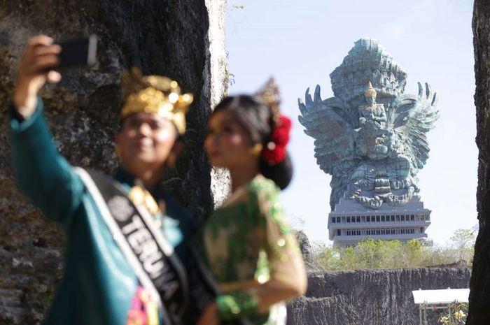 Patung Garuda Wisnu Kencana yang menjadi kebanggaan warga Bali.