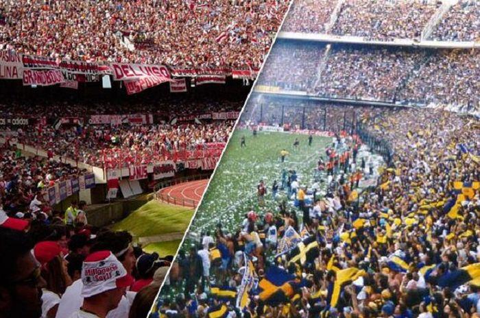 Rivalitas suporter River Plate dan Boca Juniors
