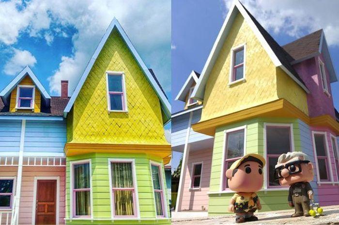 Rumah yang terinspirasi dari anime