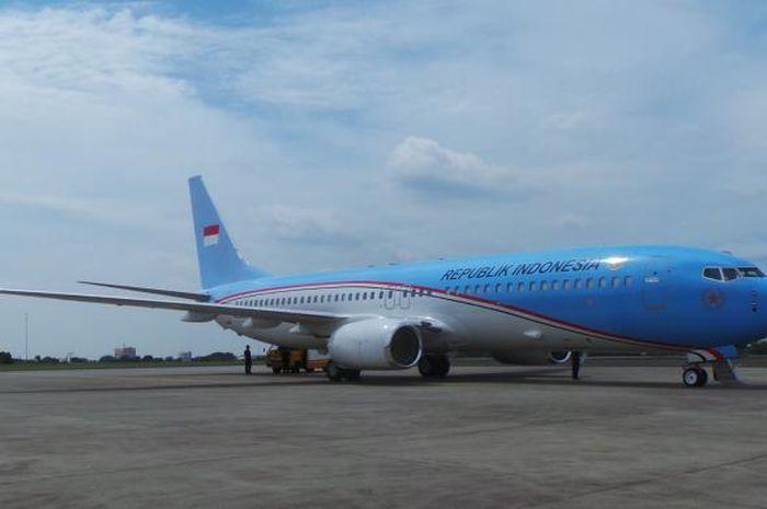 Pesawat Kepresidenan.