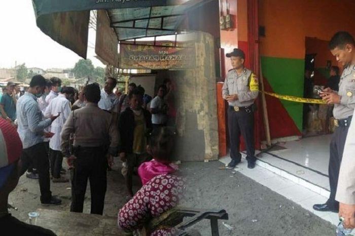 Seorang pria di Banten, ditemukan meninggal dengan earphone (biasa disebut headset, -red) terpasang di telinganya, Rabu (26/9/2018).