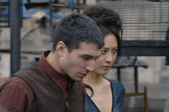 Credence dan Nagini di film Fantastic Beasts